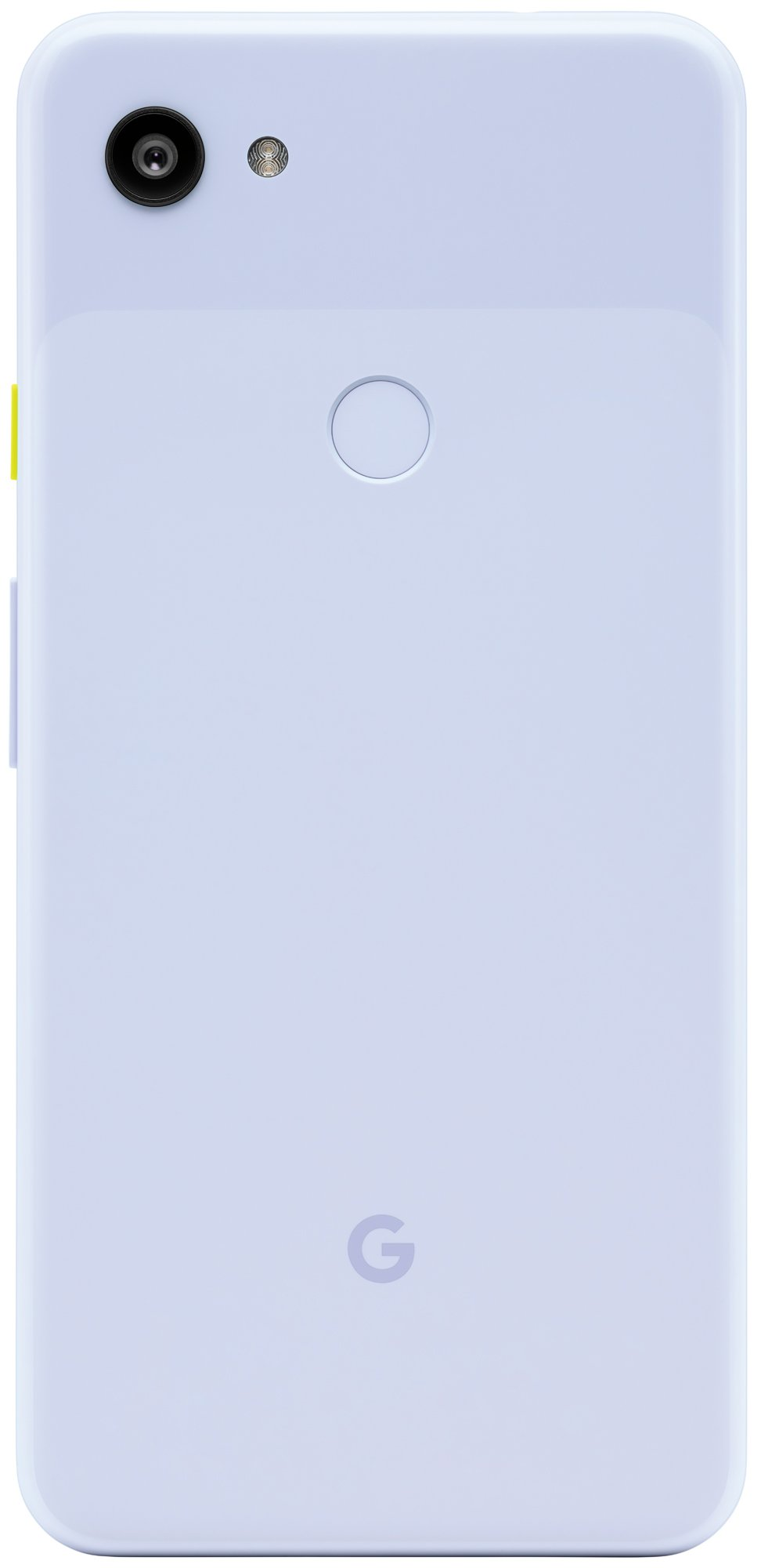 The Google Pixel 3a in Purplish colour